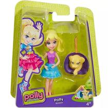 Boneca Polly Pocket com Cachorrinho - Mattel
