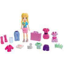 Boneca Polly Pocket - Conjunto de Viagens Fashion - Nova York - Mattel