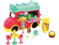 Boneca Polly Pocket Food Truck com Acessórios - Mattel GDM20