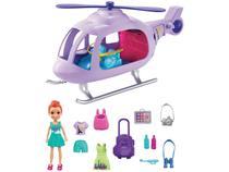 Boneca Polly Pocket Helicóptero de Aventura - com Acessórios Mattel