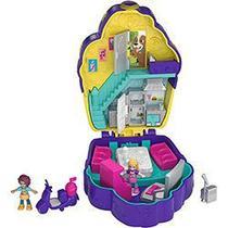 Boneca Polly Pocket Mini Mundo de Aventura - Casa de Cupcake Fry35/fry36 - Mattel -