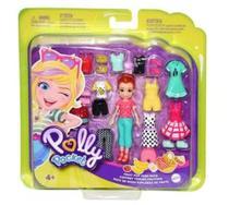 Boneca Polly Pocket - Pacote Fashion de Doces - Mattel 887961747409 -