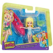 Boneca POLLY Pocket Parque Aquatico POLLY Mattel DVJ72/DVJ74