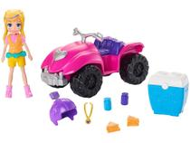 Boneca Polly Pocket Quadriciclo Fabuloso - com Acessórios Mattel GDM13