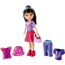 Boneca Polly Pocket Super Fashion - Crissy Fashion - Mattel