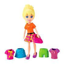 Boneca Polly Pocket - Super Fashion Polly - Mattel