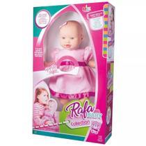 Boneca Rafa Baby Collection 48CM Vinil - Milk brinquedos