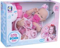 Boneca Reborn Love Born Bebezinho da Mamãe - Cotiplás