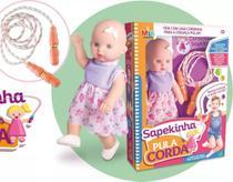Boneca Sapekinha Pula Corda Milk Brinquedos -