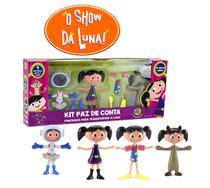 Boneca Show da Luna Kit Faz de Contas com 3 Fantasias DTC -