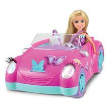 Boneca Sparkle Girlz + Carro Fadas das Borboletas - Dtc
