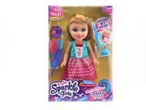 Boneca Sparkle Girlz Estilo Princesa com Som - Dtc