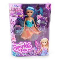 Boneca Sparkle Girlz Fada Celeste  Com Acessórios  Dtc -