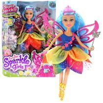 Boneca Sparkle Girlz Fada Das Flores Dalila com Acessórios DTC 4804 -