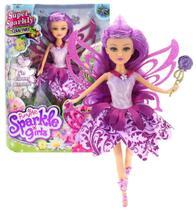 Boneca Sparkle Girlz Fada Das Flores Lili com Acessórios DTC 4804 -