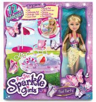 Boneca Sparkle Girlz - Festa na Piscina - Dtc