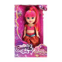 Boneca Sparkle Girlz Gênia 33cm Rosa DTC 4220 -