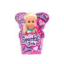 Boneca Sparkle Girlz Mini Princesa DTC Personagens Sortidos -