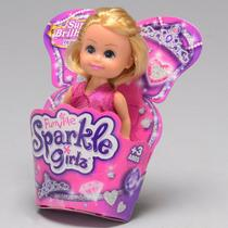 Boneca Sparkle Girlz Mini Princesa DTC -