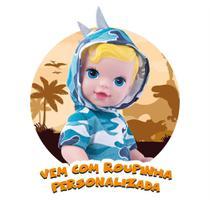 Boneca Supertoys Babys Dino Baby - Super Toys