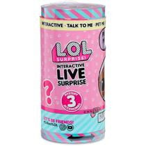 Boneca Surpresa Lol Interactive Live Surprise Candide 8915 -