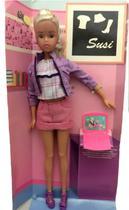 Boneca Susi Wireless Com Mini Notebook Rosa De Brinquedo - Estrela - Ano 2012 -