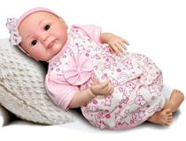 Boneca tipo Bebê Reborn Mariazinha - Sid Nyl - Sid-nyl