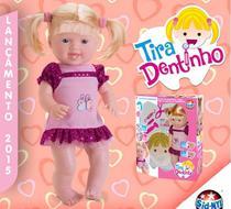 Boneca Tira Dentinho - Sid Nyl -