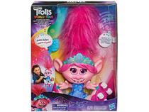 Boneca Trolls Dancing Hair Poppy 31cm - com Acessórios Hasbro -