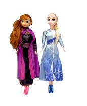 Bonecas Anna E Elsa Frozen 9219 - Esm