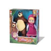 Bonecas da Masha E O Urso Original Personagens em Vinil - Divertoys