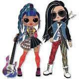 Bonecas LOL Surprise OMG Rocker Boy e Punk Grrrl - Candide -