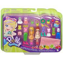 Bonecas Polly Pocket - Conjunto de Estilos Piquenique - Mattel -