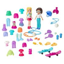 Bonecas Polly Pocket - Kit Moda Deportiva - Mattel