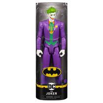 Boneco 29 cm Batman Dc ( The Joker ) - Spin Master -