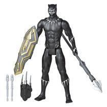 Boneco 30 Centimetros - Blast Gear - Titan Hero Series - Marvel Avengers - Pantera Negra HASBRO -
