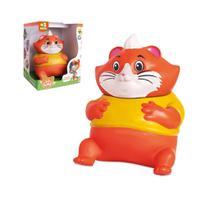 Boneco 44 gatos personagem almondega articulado samba toys -
