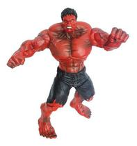 Boneco Action Figure Hulk Vermelho Marvel Dts Vingadores -