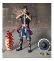 Boneco Action Figure Kung Lao Mortal Kombat Storm 30 Cm 1/6 -