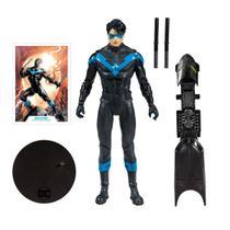 Boneco Action Figure Modern Nightwing Asa Noturna DC Comics Multiverse -