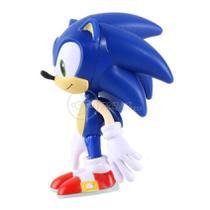 Boneco Action Figure Sonic Articulado Grande Super Size - 23cm - Sonic World -