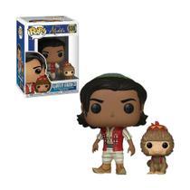Boneco Aladdin of Agrabah com Abu 538 Disney Aladdin - Funko Pop -