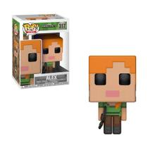 Boneco Alex 317 Minecraft - Funko Pop! -