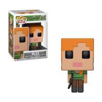 Boneco Alex 317 Minecraft - Funko Pop! -