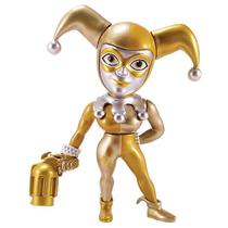 Boneco Arlequina Dourada Dc Comics 10 Cm Metals Die Cast Jada Toys - Dtc