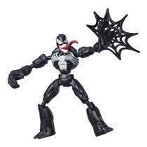 Boneco Artic 20cm Marvel Homem Aranha Ghost Spider Bendflex -