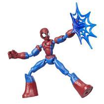 Boneco Articulado - 20 Cm - Disney - Marvel - Spider-Man - Homem Aranha - Bend and Flex - Hasbro - E7335 -
