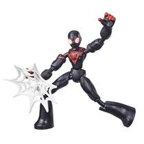 Boneco Articulado - 20 Cm - Disney - Marvel - Spider-Man - Miles Morales - Bend and Flex - Hasbro - E7335 -