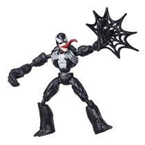 Boneco Articulado - 20 Cm - Disney - Marvel - Spider-Man - Venon - Bend and Flex - Hasbro - E7335 -