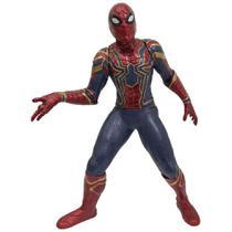 Boneco Articulado - 55 Cm - Disney - Marvel - Avengers - Ultimato - Homem Aranha - Mimo -